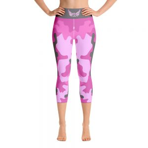 High Waistband Capri Leggings